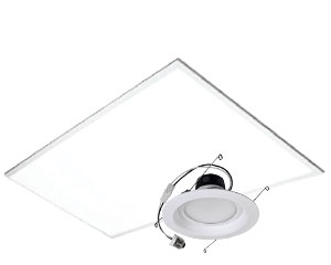 LED Indoor Light Fixtures