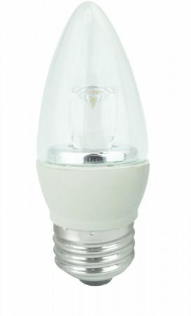 TCP LED5E26B1127K 5W 2700K Torpedo LED Bulb