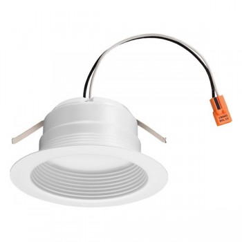 Lithonia 10 3 watt led 3000k 120v 570 lumen 82 cri matte white 4 0
