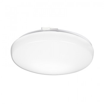 Lithonia 24 watt 14 led low profile round flush mount with white acrylic diffuser