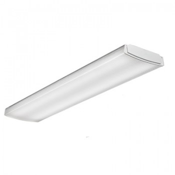 Lithonia 17 watt 24 led 0 10v dimmable surface mount wraparound fixture 4000k