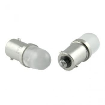 Blue 36V 130V T3.25 Mini Bayonet Base Dome Top Miniature LED Bulb (