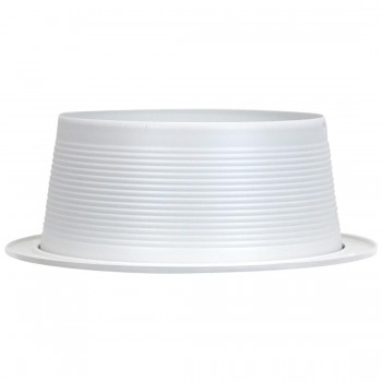 Recessed lighting canisters recessed cans 7 14 white trim white baffle for use with recessed housing co p31ww by emerald aloadofball Image collections