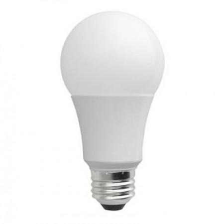 TCP 9 Watt A19 LED 2700K 120V 800 Lumen 80 CRI Medium (E26) Base Shatter Resistant Dimmable Bulb (L9A19D1527K)
