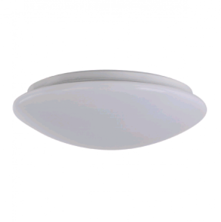 """Sylvania 25 Watt 14"""" LED Phase-cut Dimmable Surface Mount Fixture - 4000K 120V 80 CRI 1600 Lumen (SURFACER1A/025120T840/14S/WH)"""