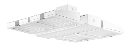 RAB 230 Watt LED High Output High Performance Industrial High Bay Fixture - 4000K 480V 74 CRI 20,683 Lumen (FALCOR230NW/480)
