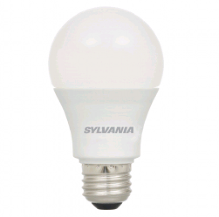 Sylvania 12 Watt A19 LED 2700K 120V 1100 Lumen 80 CRI Medium (E26) Base Frosted Bulb (LED12A19F82710YVRP)