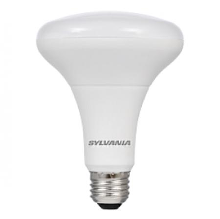 Sylvania 9 Watt BR30 LED 2700K 120V 650 Lumen 80 CRI Medium (E26) Base Dimmable Bulb (LED9BR30DIM82710YVRP2)