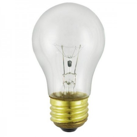 15A15/CL130 15 Watt A15 Incandescent Appliance Bulb
