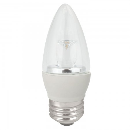 TCP LED 4 Watt B11 Dimmable 2700K E26 (LED4E26B1127K)