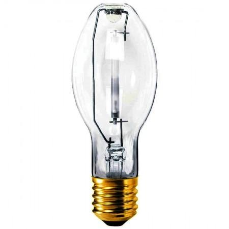 Sylvania 150 Watt ET23.5 High Pressure Sodium 2100K Mogul (E39) Base Clear Bulb - S55/O (LU150/55/ECO)