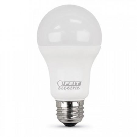 Feit Electric A19 100 Watt Equivalent, 1500 Lumen, 5000K Bulb, 2 Pack  (A1600/850/10KLED/2)