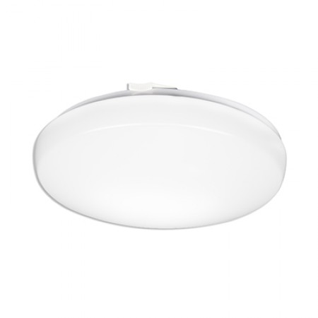 "Lithonia 24 Watt 14"" LED Low Profile Round Flush Mount with White Acrylic Diffuser - 4000K 120V 80 CRI 1600 Lumen Fixture (FMLRL1420840M4)"