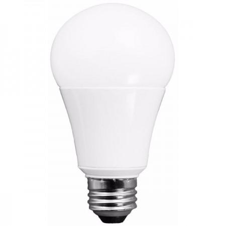 TCP 15 Watt A19 LED 2700K 120V 1600 Lumen 80 CRI Medium (E26) Base Omni-Directional Shatter Resistant Dimmable Bulb (L15A19D2527K)