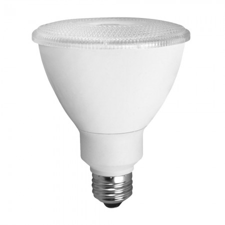 TCP 12 Watt 2700K Medium Base Dimmable PAR30 Long Neck 40 Degree LED Bulb (LED12P30D27KFL)