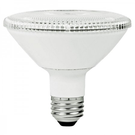 TCP 12 Watt PAR30 Short Neck LED 4100K 120V 875 Lumen 82 CRI Medium (E26) Base Dimmable Flood Bulb (LED12P30SD41KNFL)