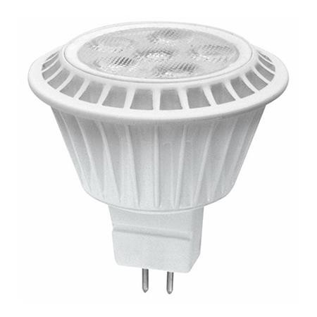 TCP 7 Watt MR16 LED 2400K 12V 450 Lumen 80 CRI Bipin (GU5.3) Base Shatter Resistant Dimmable Narrow Flood Bulb (LED712VMR16V24KNFL)