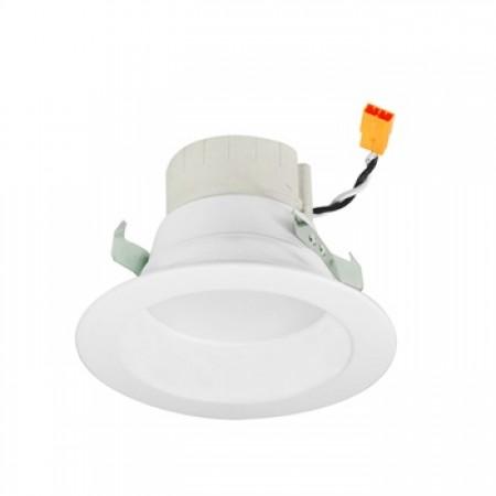 "Nora 11.5 Watt LED 2700K-4000K Adjustable 120V 750 Lumen 90 CRI Dimmable PRISM Smart Technology 4"" White Downlight Retrofit - Includes Reflector Trim (NLPR-441RGBW/WW)"