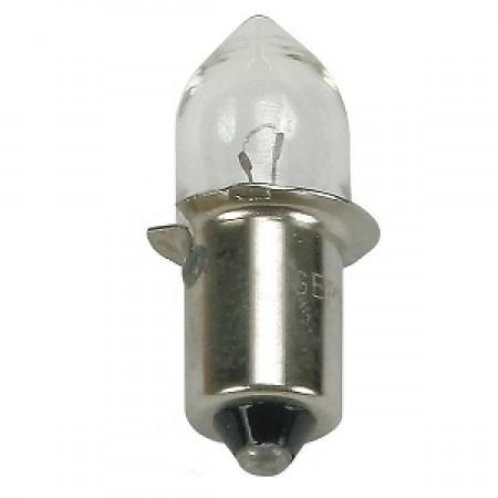 ".5 Amp 1.25"" B3.5 Incandescent 2.38V Mini Flanged Base Clear Miniature Bulb (PR-2)"