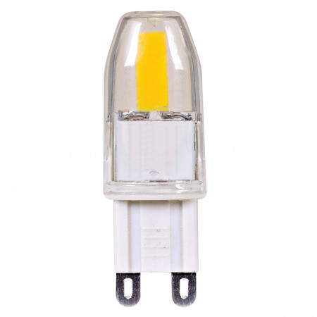 Satco 1.6 watt; JCD LED; 5000K; G9 base; 120 volts (1.6JCD/G9/LED/5000K/120V/D)