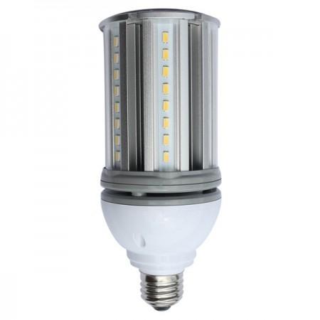 Satco 18 Watt  Low Voltage Corn Cob LED 5000K 12V-24V Medium 2160 Lumen (E26) Screw Base - for Matine or RV Use (S9755)