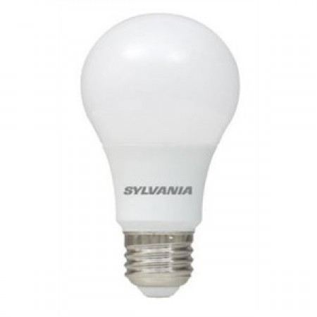 Sylvania 6 Watt A19 LED 2700K 120V 450 Lumen 80 CRI Medium (E26) Base Frosted Bulb (LED6A19F82710YVRP)