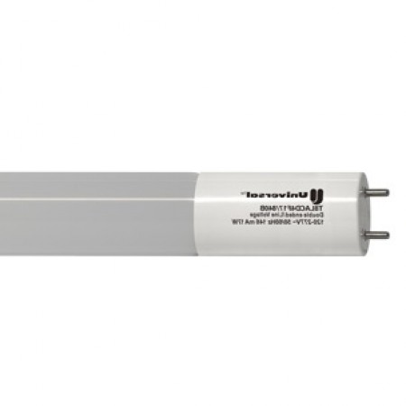 "Universal 14 Watt 48"" T8 Linear LED 4000K 1800 Lumen 82 CRI Medium Bi-Pin (G13) Base Tube (T8LACD4F14/840B25C)"
