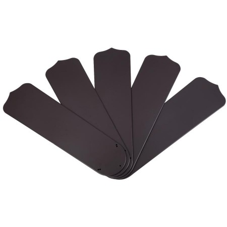 """Westinghouse 52"""" Outdoor Replacement Dark Brown Finish Ceiling Fan Blades 5-Pack(7741300)"""