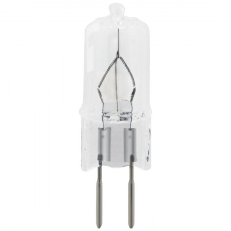35 Watt T4 Halogen 2850K 130V Bipin (GY6.35) Base Single Ended Clear JCD Bulb (JCD6009)