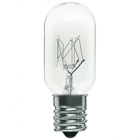 15 Watt T7 Incandescent 130V Intermediate (E17) Base Clear Tubular Bulb (15T7N/CL130)