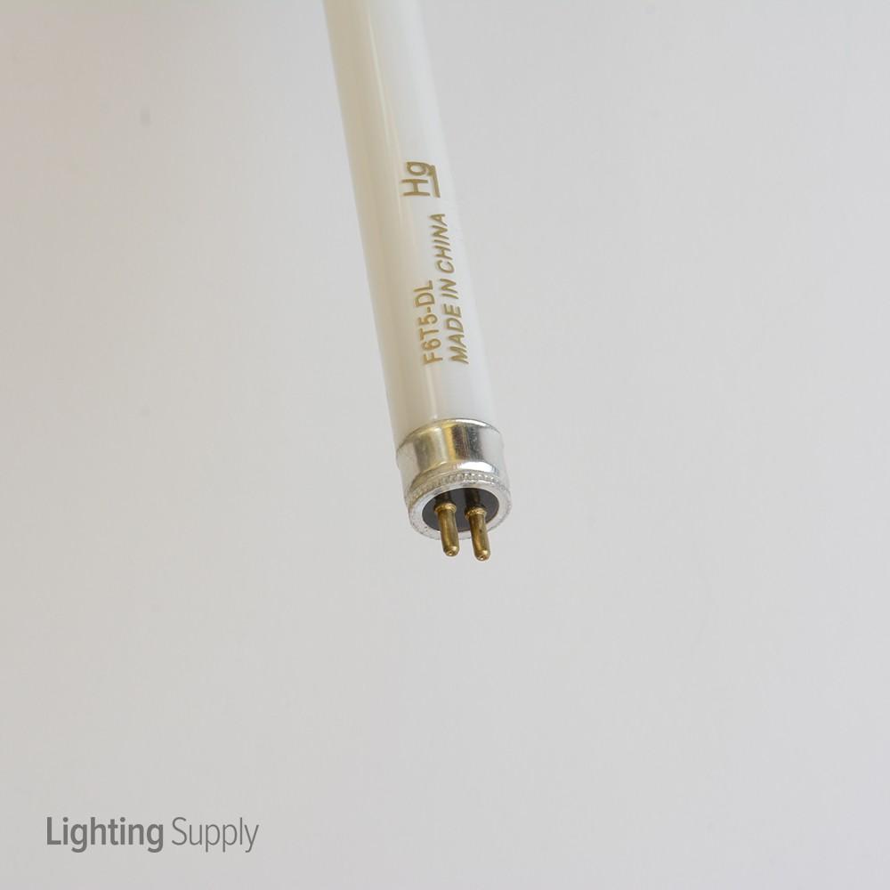 Standard F6t5d 6 Watt 9 Inch 6400k T5 Miniature Bipin Base B