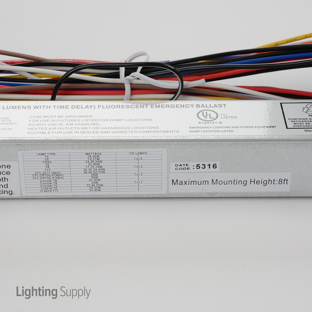 Dorable T5 Emergency Ballast Wiring Diagram Collection - Wiring ...