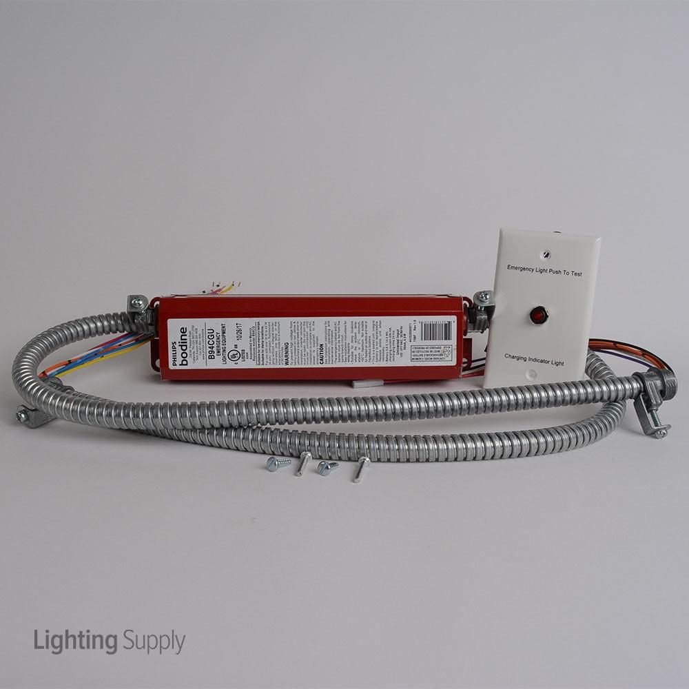 Bodine B94cgu Emergency Ballast For 1 18 42w 4 Pin Cfl Lam