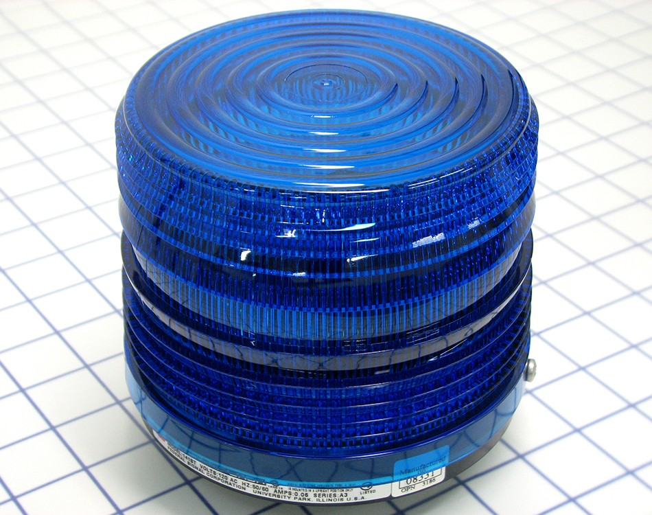 Federal Signal 141st 120b 120v Strobe Blue Signal Light 141