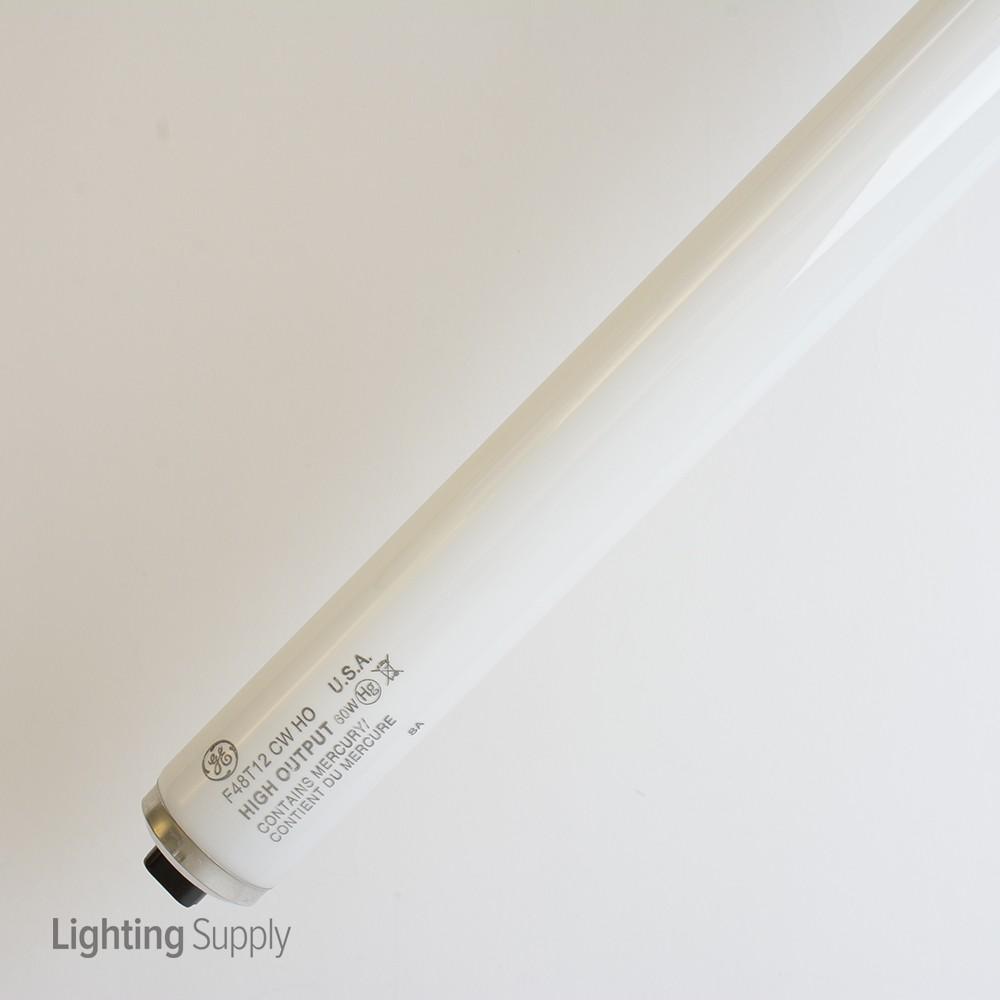 Ge F48t12 Cw Ho Ge 60 Watt 48 Inch T12 Linear Fluorescent 41