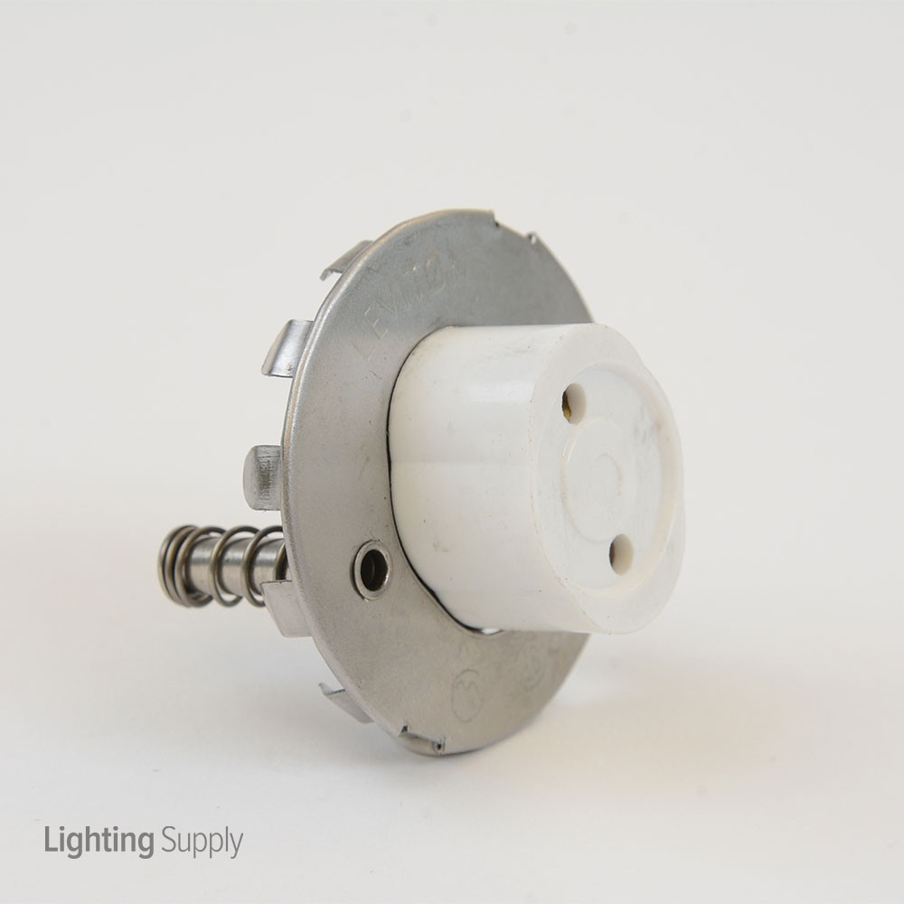 Leviton Fe13518 Fluorescent Medium Bipin Base Socket Snap