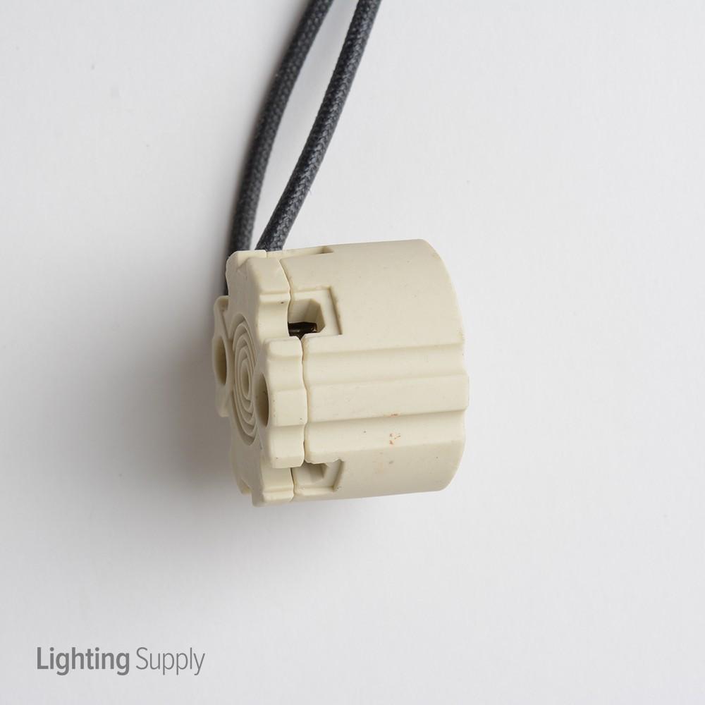 Leviton GX8.5 Twist & Lock Base Porcelain Metal Halide Socket With ...