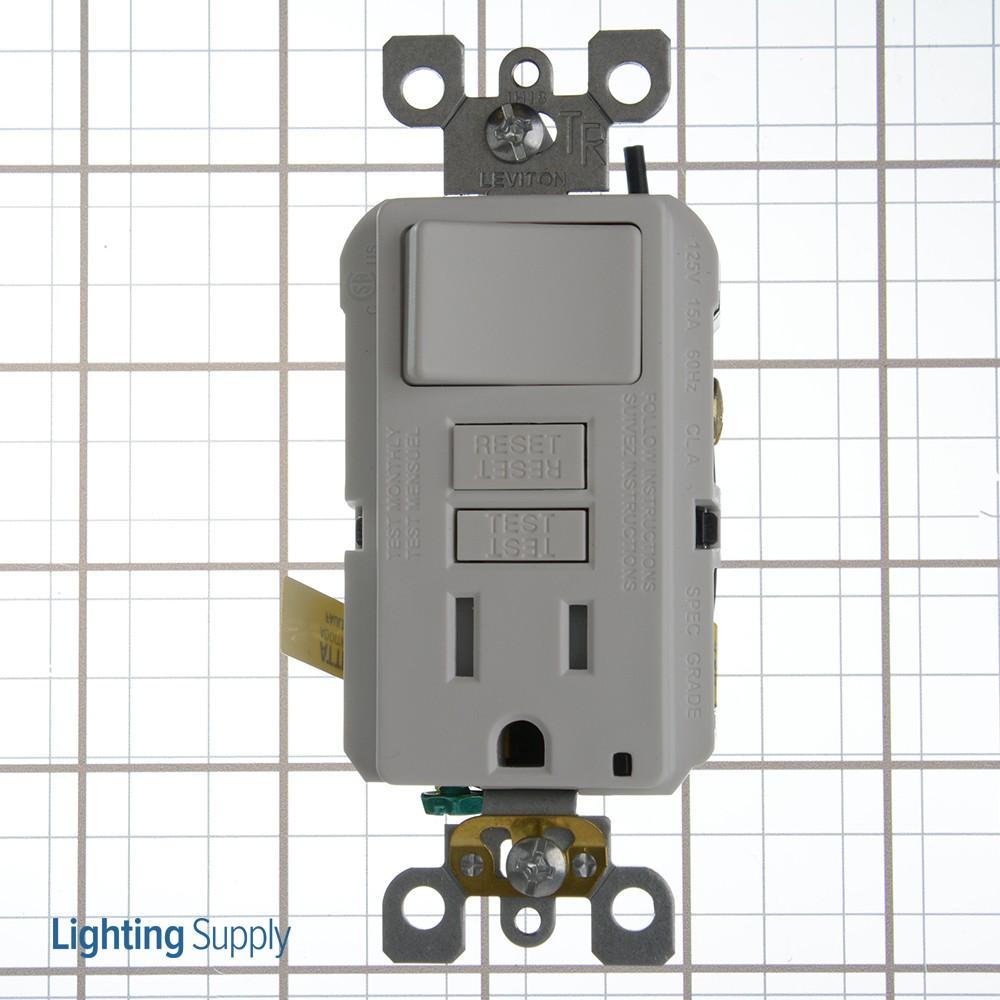 Leviton Gfsw1 Switch Combo  Gfsw1