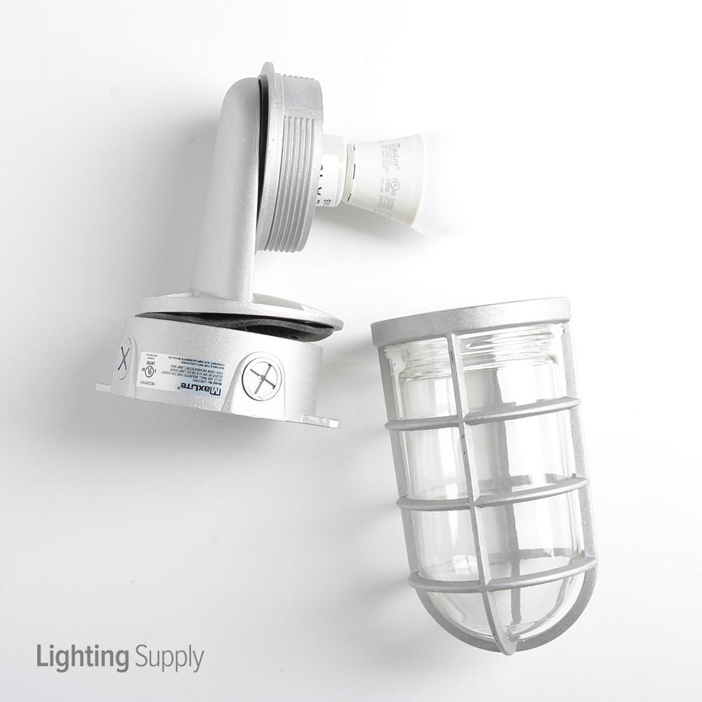 Maxlite Jjw12001 Jelly Jar Wall Mounted 120v E26 Socket Wet