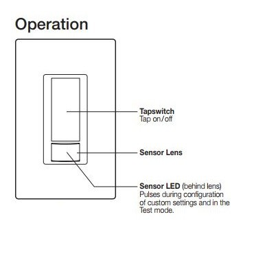 Lutron Ms Ops2 Wh Maestro Passive Infrared Pir Single Circ
