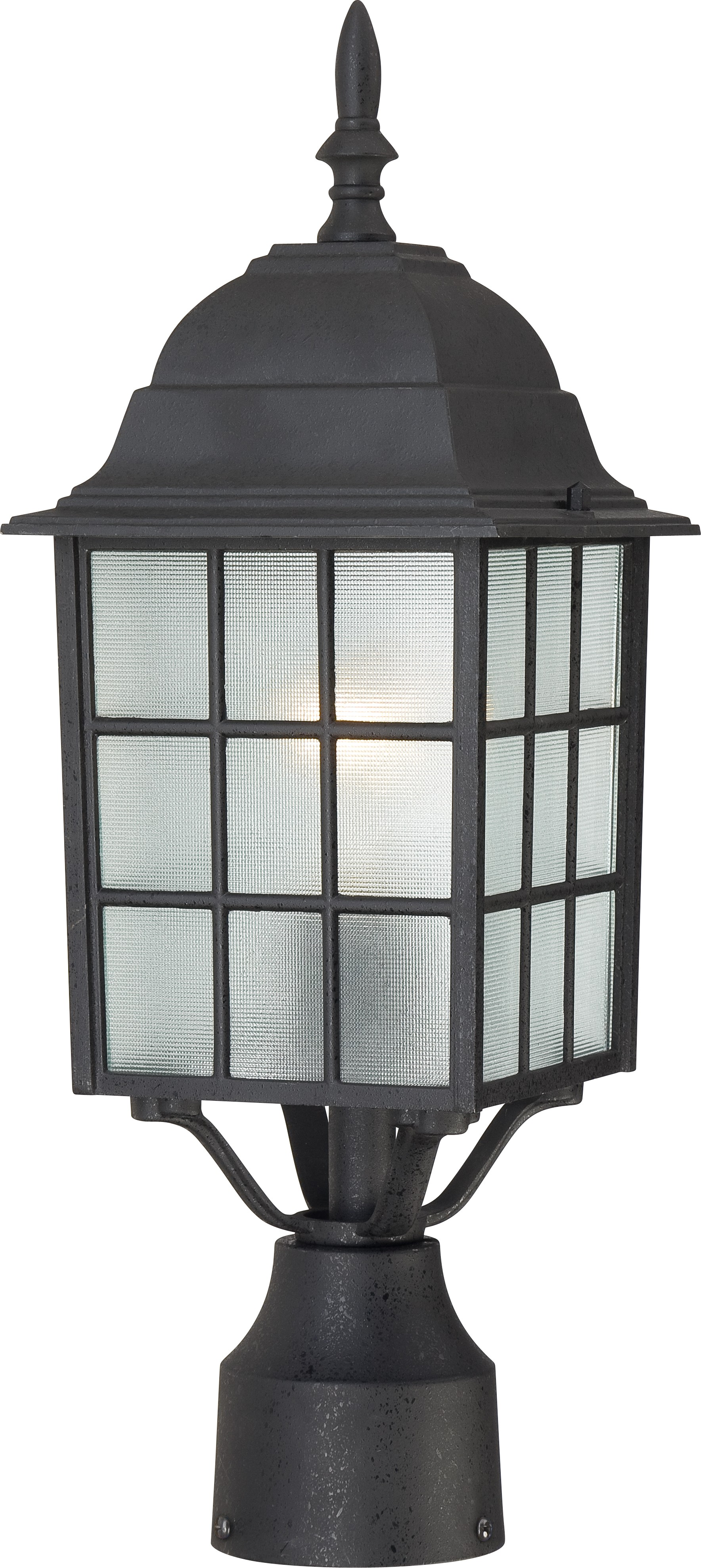 Nuvo 60 4909 Adams 1 Light 17 Inch Outdoor Post With Fro