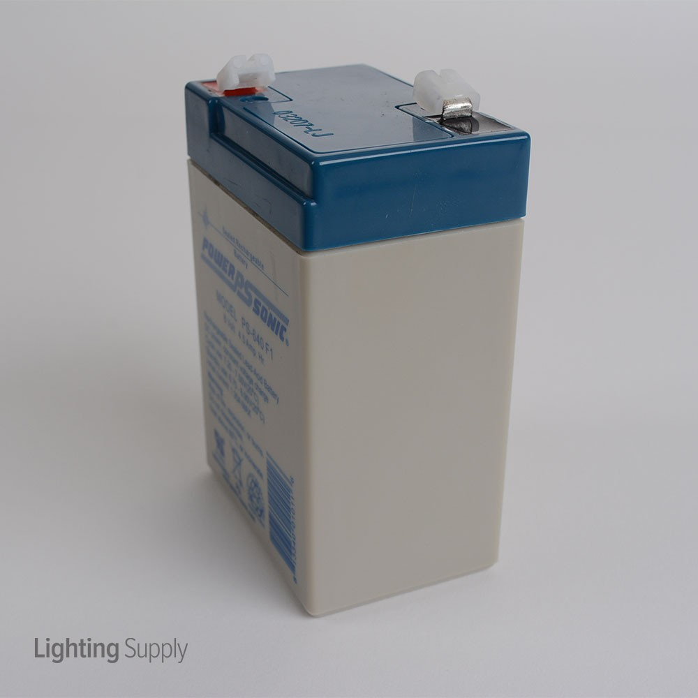 Best Lighting Products Ps 640 Power Sonic 6v 4 5ah Backup Ba
