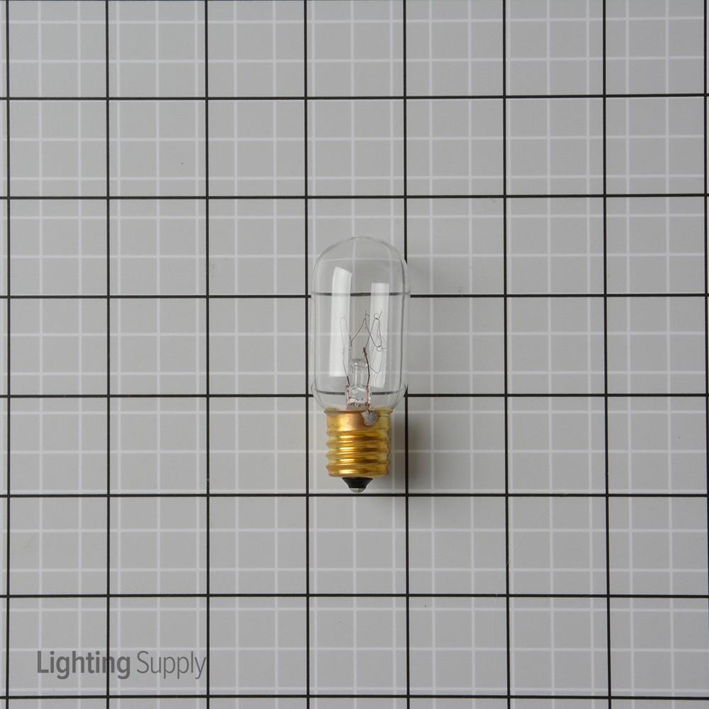 satco s3908 25 watt t8 incandescent  clear  2500 average rat