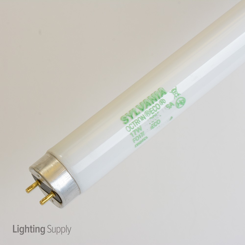 Fluorescent Light Delayed Start: Sylvania FO17/741/ECO 17 Watt 24 Inch T8 Linear Fluorescent