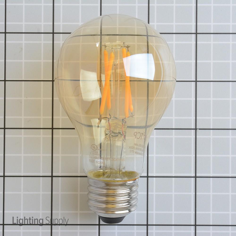 tcp lfa4025ad 5 watt a19 led 2500k 120v 450 lumen 80 cri med