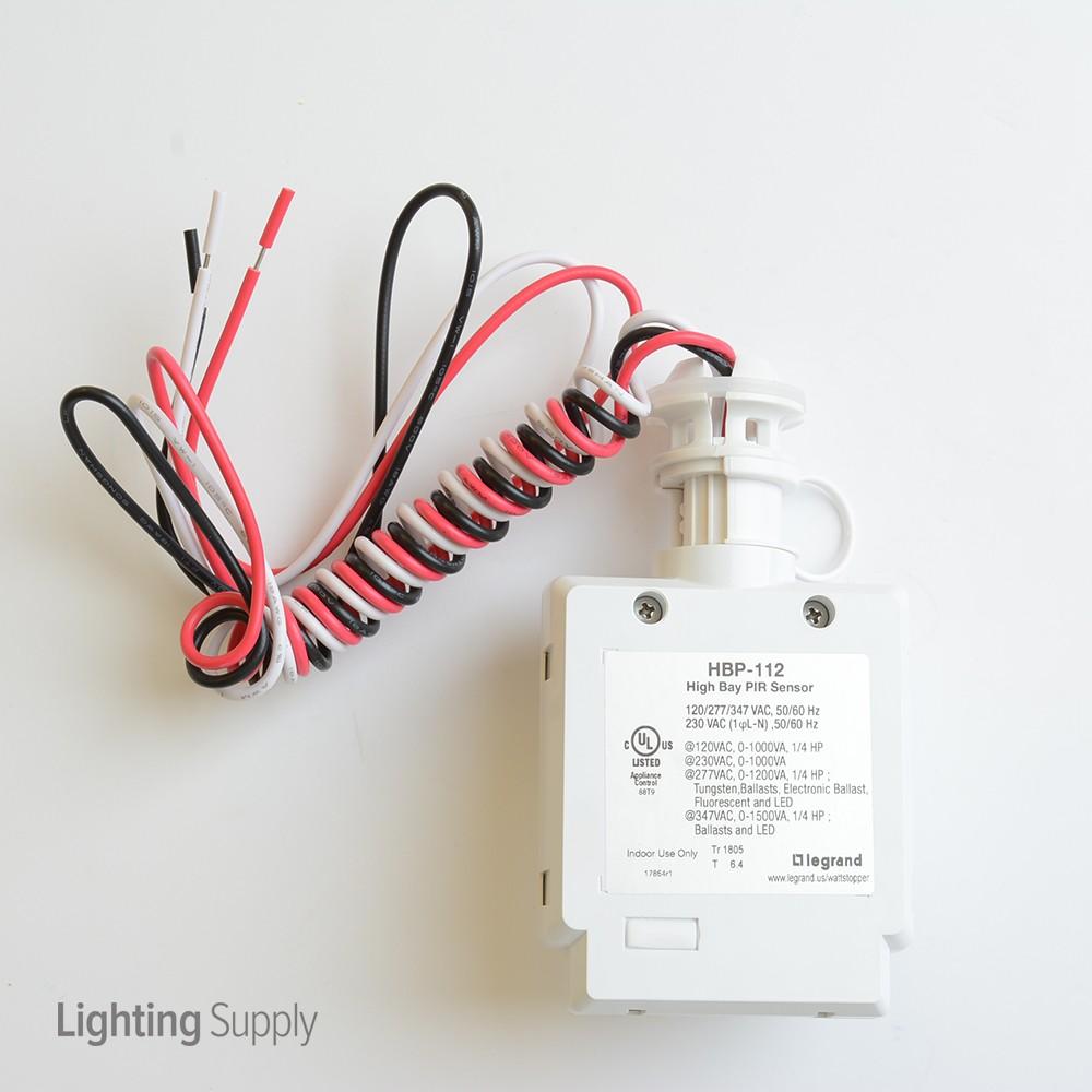 Led High Bay Occupancy Sensor: WattStopper HBP-112-L7 High Bay Passive Infrared (Pir) Occup