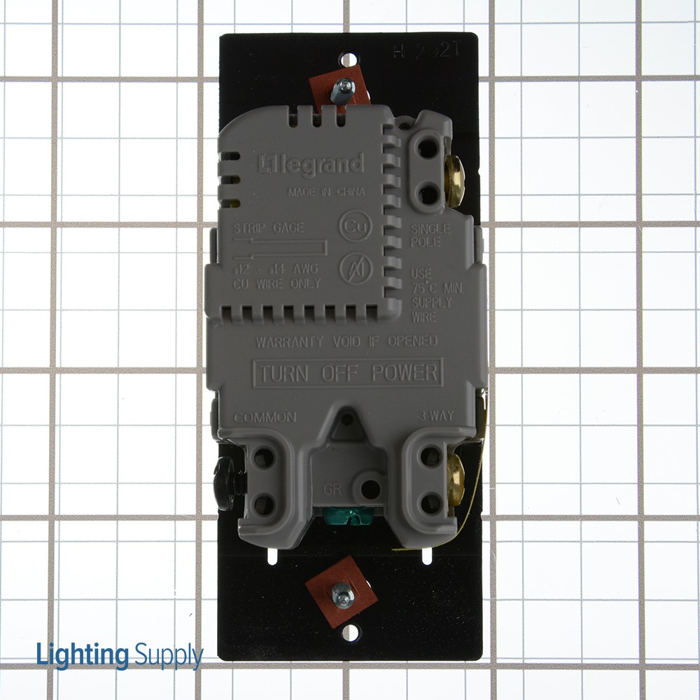 Wattstopper Rhcl453pw Radient Cfl Led Single Pole 3 Way 450w