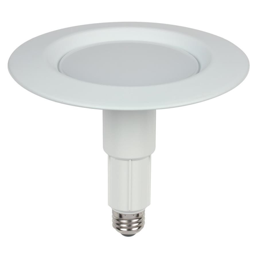 6 Inch Par30 Adjustable Gimbal Ring Trim White Recessed: Westinghouse 3105000 10W Adjustable Recessed Downlight 6 Inc