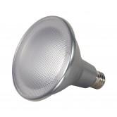 Satco  15 watt PAR38 LED; 5000K; 60' beam spread; Medium base; 120 volts  (15PAR38/LED/60'/5000K/120V/D)