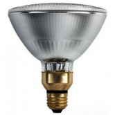 Philips 55 Watt PAR38 Short Neck Halogen 2700K 120V Medium (E26) Base IRC Coated Wide Flood Bulb (55PAR38/IRC+/WFL40/120V)